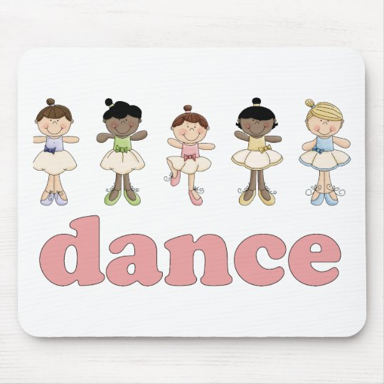 Ballerinas Dance Mouse Pad