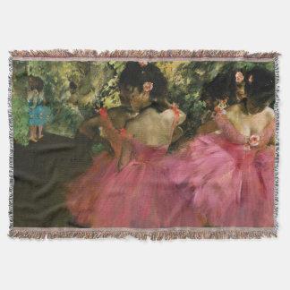 Ballerinas in Pink by Edgar Degas