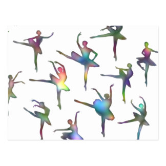 Ballerinas Postcard