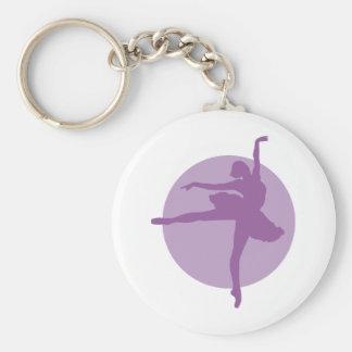 Ballet 2C Key Ring
