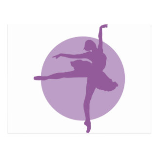 Ballet 2C Postcard
