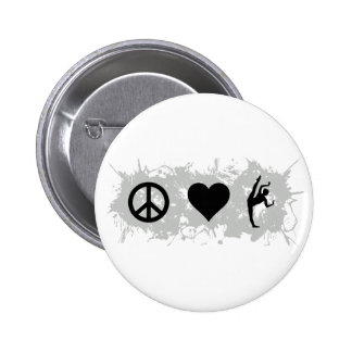 Ballet 3 6 cm round badge
