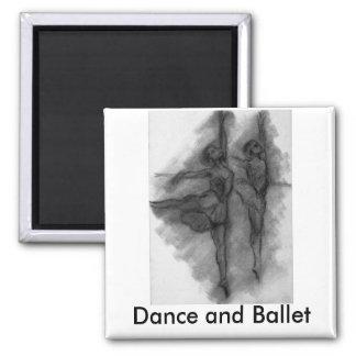 """Ballet and Dance"" Magnet"