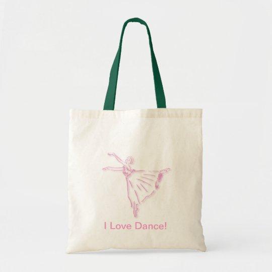 Ballet Bag in Pink or Blue