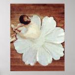 Ballet Bloom Poster