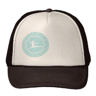 Ballet Blue Circles Trucker Hat