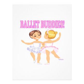 Ballet Buddies Flyer Design