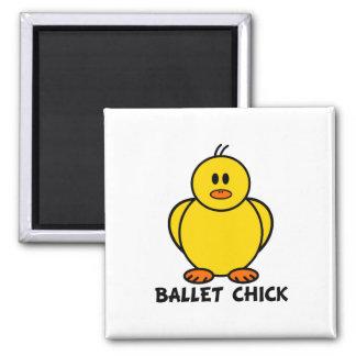 Ballet Chick Refrigerator Magnet