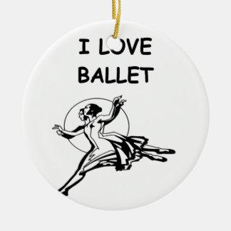 ballet christmas ornaments