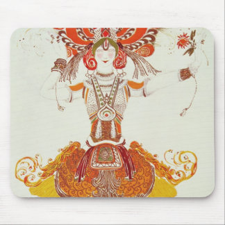 Ballet Costume for 'The Firebird', by Stravinsky Mouse Mat