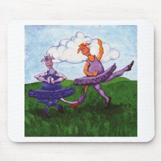 Ballet Cows Mouse Pad