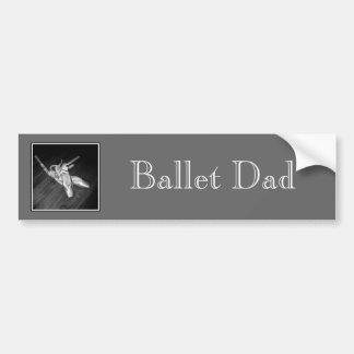 'Ballet Dad' Bumper Sticker