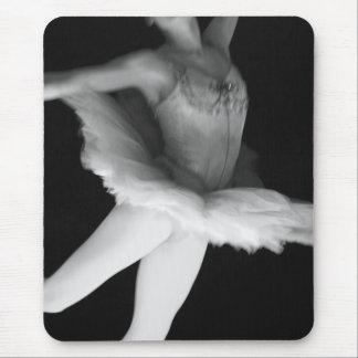 Ballet - Dance - Ballerina 9 - Black & White Mouse Pad
