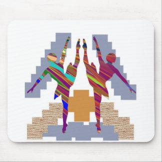 BALLET DANCE CLASS Love my team Mousepad