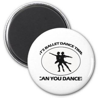 BALLET DANCE DESIGNS MAGNETS