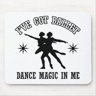 Ballet Dance Designs Mouse Pad