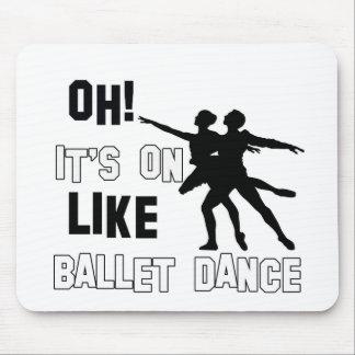Ballet Dance Designs Mousepads