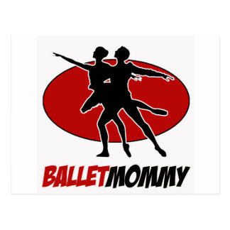 BALLET DANCE DESIGNS POSTCARDS