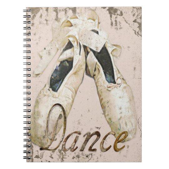 Ballet dance notebook1, Copyright Karen J Williams Notebooks