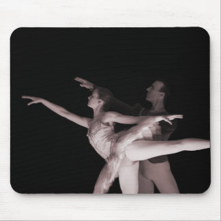 Ballet - Dance Partners 2 - Red Mouse Pad
