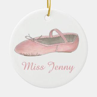 Ballet Dance Teacher Recital Holiday Gift Ornament