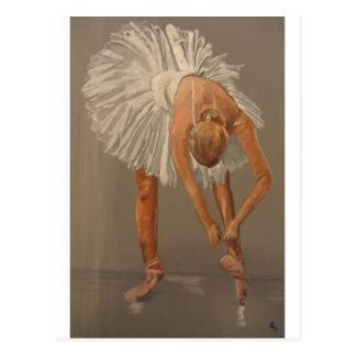 Ballet dancer 1 postcard