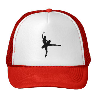 BALLET DANCER Arabesque (Ballerina silhouette) ~ Trucker Hat
