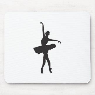 BALLET DANCER (Ballerina silhouette) ~.jpg Mouse Pad