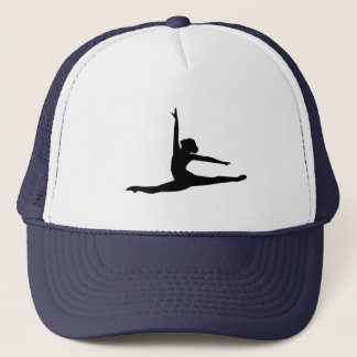 Ballet Dancer Ballerina Trucker Hat