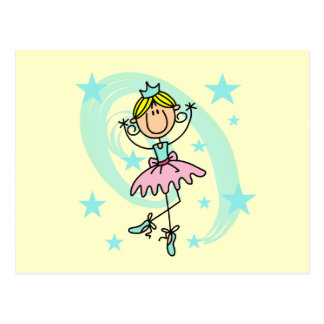 Ballet Dancer - Blond T-shirts and Gifts Postcard