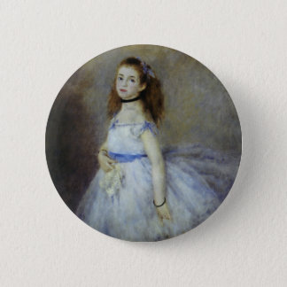 Ballet Dancer by Pierre Renoir, Vintage Fine Art 6 Cm Round Badge