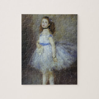 Ballet Dancer by Pierre Renoir, Vintage Fine Art Jigsaw Puzzle