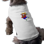 Ballet Dancer Clown Dog Tshirt