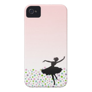 Ballet Dancer Dancing amongst the stars - pink iPhone 4 Covers