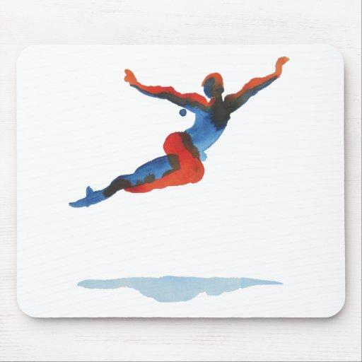 Ballet Dancer Flying Mouse Pads