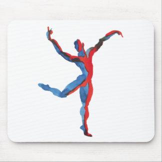 Ballet Dancer Gesturing Mousepad