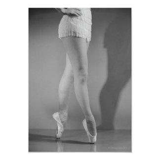Ballet Dancer Custom Invites