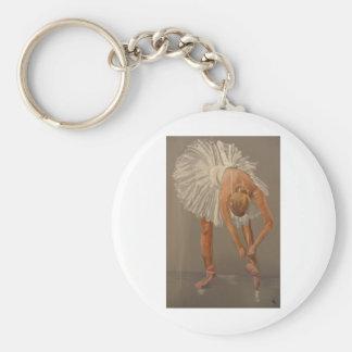 ballet dancer keychain