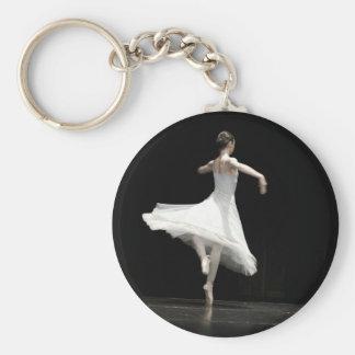 Ballet Dancer Key Ring