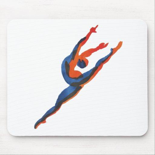 Ballet Dancer Leaping Mousepad