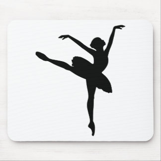 Ballet Dancer Mouse Pad