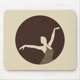 Ballet Dancer Mouse Pads