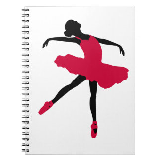 Ballet Dancer Notebook