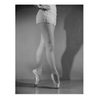 Ballet Dancer Postcard