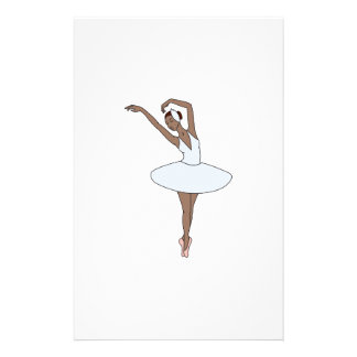 Ballet Dancer Stationery