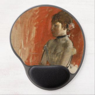 Ballet Dancer with Arms Crossed by Edgar Degas Gel Mouse Mat