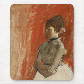 Ballet Dancer with Arms Crossed by Edgar Degas Mousepads