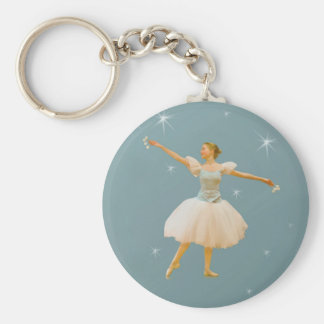 Ballet Dancer with Castanets Key Chains