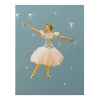 Ballet Dancer with Castanets Postcard