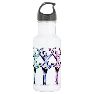 Ballet Dancers 32 oz. 532 Ml Water Bottle